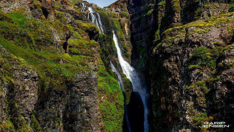 Iceland-Glymur-waterfall