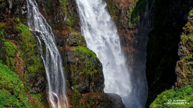 Iceland-Glymur-waterfall-detail