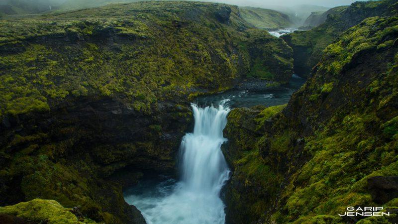 Iceland-near-skogar-waterfall