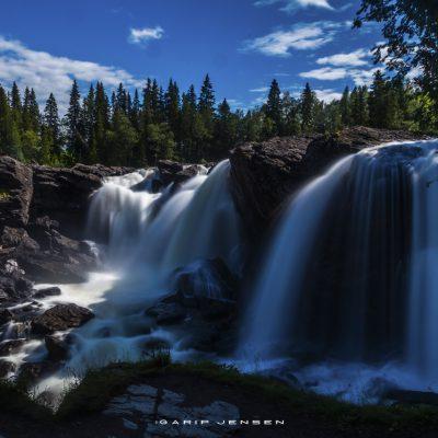 ristafallet-waterfall