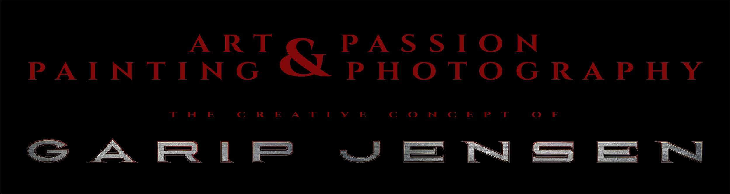 text-logo-the-creative-concept-of-garip-jensen